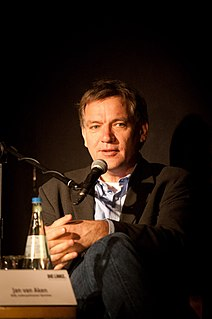 Jan van Aken (politician) German activist for Greenpeace and politician with the Left Party