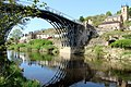 Iron Bridge and St Lukes Church, Ironbridge, Shropshire (geograph 2364920).jpg