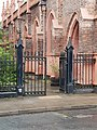 Iron Railings And 2 Gatepiers At St Michaels Church.jpg