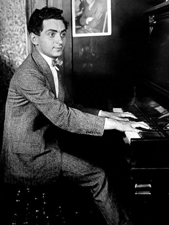 Irving Berlin - Berlin at his first job with a music publisher, aged 18