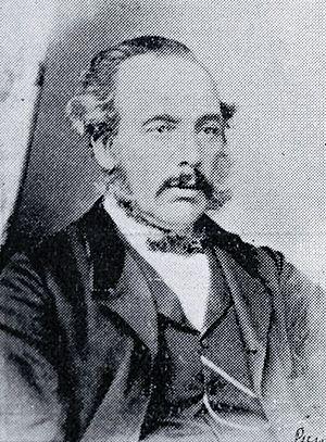 Isaac Luck - Isaac Luck in ca 1860