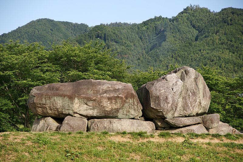 奈良県明日香村・石舞台古墳