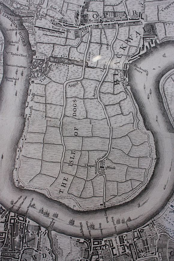 Old Maps Isle Of Dogs