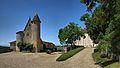 Issac, château de Montréal - coté Sud.jpg