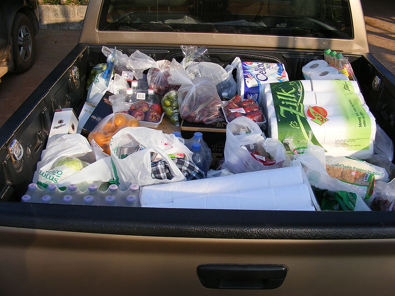 File:Isuzu Dmax trunk with shopping goods.JPG