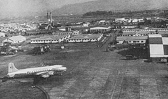 Itami Airport - Itami Air Base around 1954