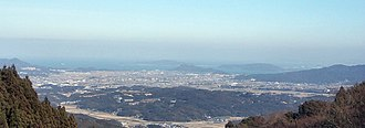 Itoshima, Fukuoka - view of Itoshima from Shiraito Falls