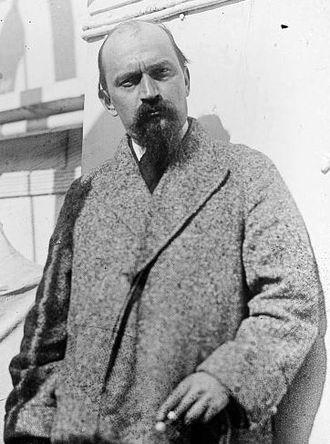 Ivan Meštrović - Photographed in Zagreb in 1928.