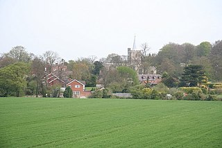 Ivinghoe village and civil parish within Aylesbury Vale district in Buckinghamshire, England