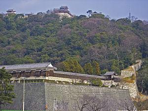 Matsuyama Castle (Iyo) - Image: Iyo Matsuyama castle