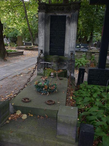 File:Józef Leśniewski grób.JPG