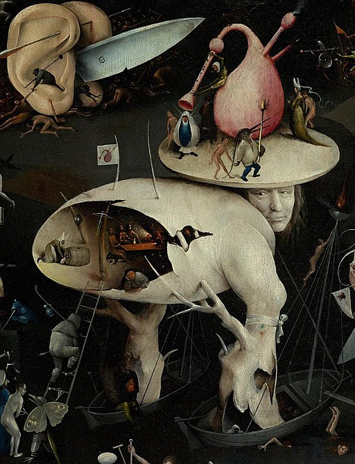 J. Bosch The Garden of Earthly Delights (detail 6)