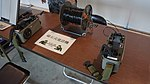 JASDF OHT-2003M field telephone at Aibano Sub Base Novenber 28, 2015 02.jpg