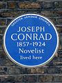 JOSEPH CONRAD 1857-1924 Novelist lived here.jpg
