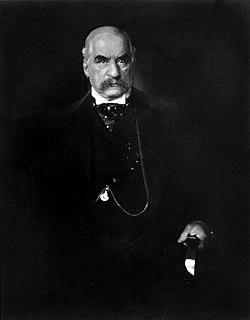 J. P. Morgan American financier and banker