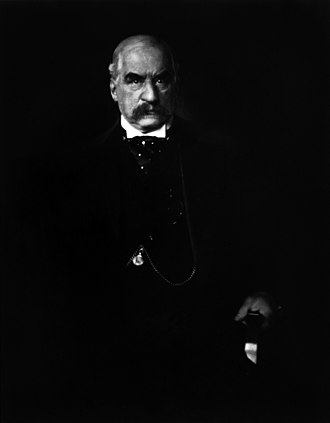 J. P. Morgan - J. P. Morgan, photographed by Edward Steichen in 1903
