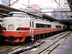 Kinugawa (train) - Image: JRE EC189 Kinugawa