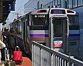 JR Hokkaido 733-1000 series B1002 Shin-Hakodate-Hokuto Station.jpg