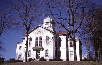 Jefferson, Georgia - Jackson County Courthouse in Jefferson