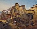 Jacob Jacobson Ansicht von Cervara 1853.jpg