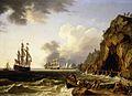 Jacob Philipp Hackert - Blick auf die Küste bei Neapel (1777).jpg