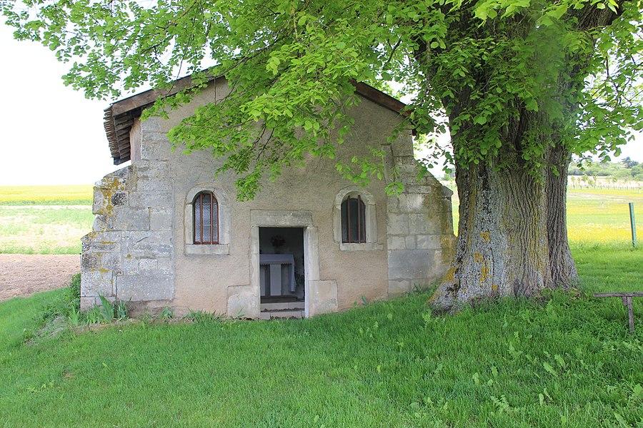 Jakobsweg by Niederkasseler   France - Kapelle - Champougny