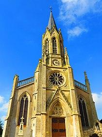 Jallaucourt l'église Saint-Denis.JPG