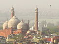 Jama Masjid aerial view from connaught place.jpg