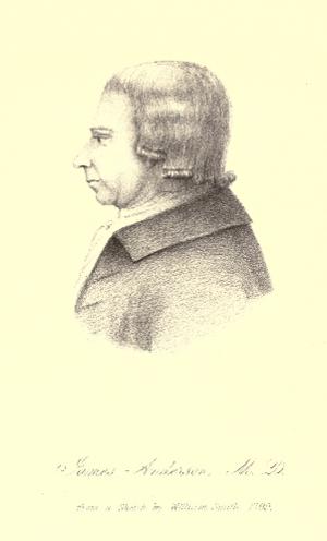 James Anderson of Hermiston - James Anderson circa 1792