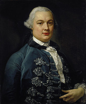 James Bruce - Portrait of Bruce by Pompeo Batoni.