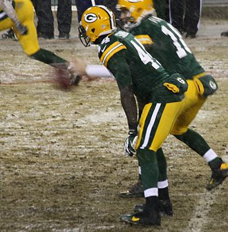 James Starks - Starks lined up at running back for the Packers in 2013