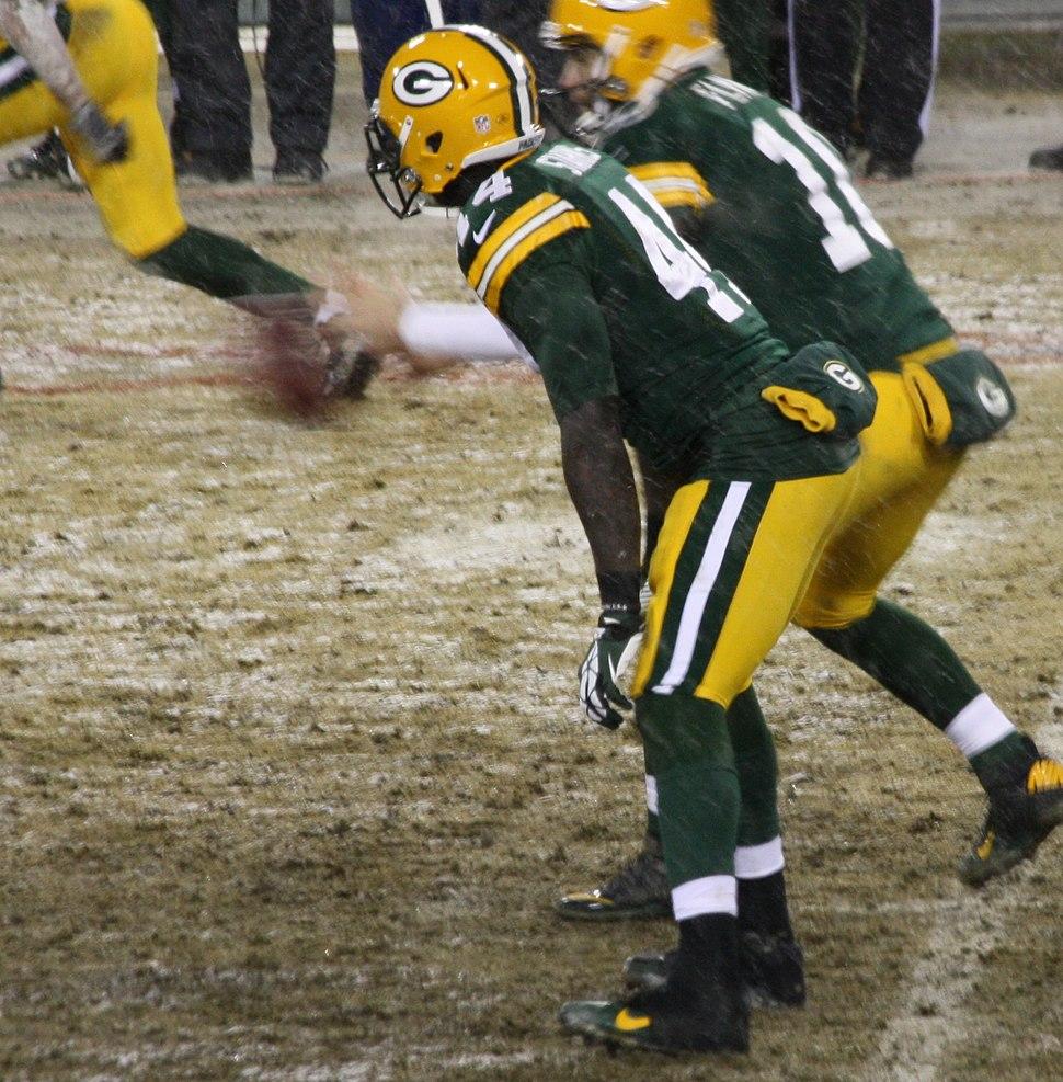 James Starks 44 at Green Bay running back Dec 2013