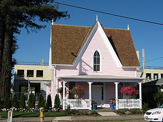 National Register of Historic Places listings in Polk County, Oregon - Image: James and Jennie Cooper House