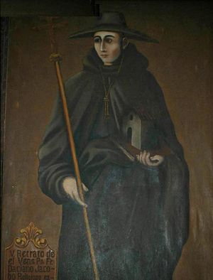 Jacob the Dacian - Jacob painted in 1906 by an unknown Mexican artist