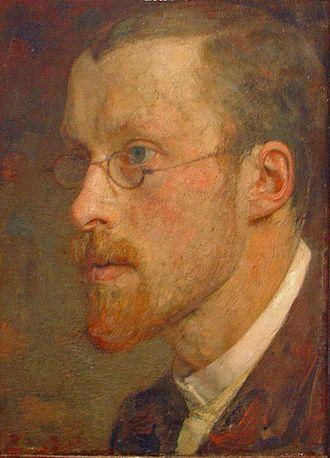 Jan Veth - Selfportrait of Jan Pieter Veth