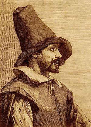 Jan de Doot - Portrait of Jan de Doot, after Cornelis Visscher.