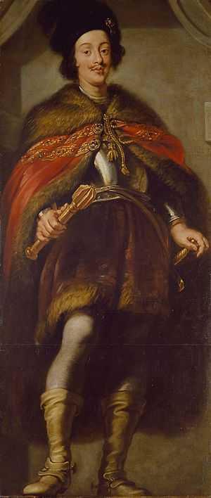 Ferdinand IV, King of the Romans - Ferdinand before he was king, by Jan van den Hoecke (1634/5)
