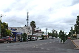 Jandowae Town in Queensland, Australia