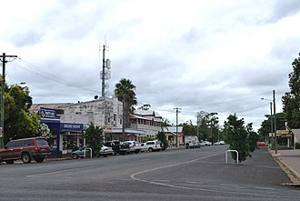 Jandowae - The commercial centre of Jandowae