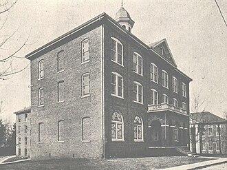 Johnson University - Image: Jbcoldmainbw