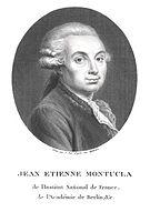 Jean-Étienne Montucla -  Bild