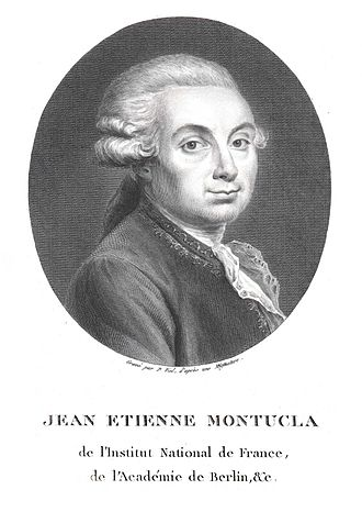 Jean-Étienne Montucla - Historian of Mathematics
