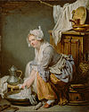 Jean-Baptiste Greuze (French - The Laundress (La Blanchisseuse) - Google Art Project.jpg