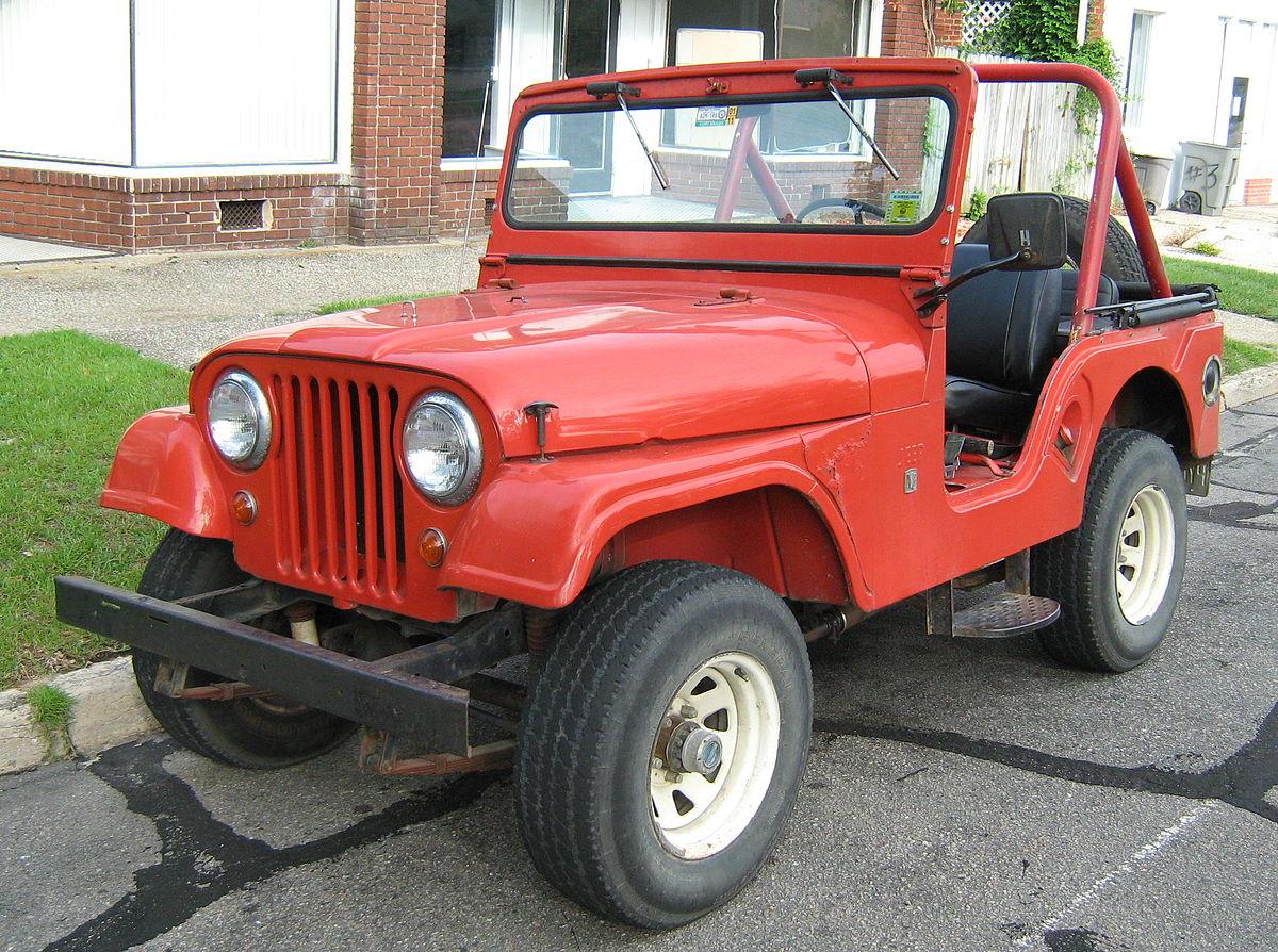 Populaire Jeep CJ — Wikipédia OO11