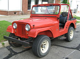 Jeep CJ - Wikipedia, the free encyclopedia