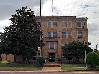Jefferson County, Oklahoma - Image: Jefferson county courthouse