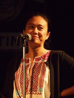 Jennifer Chang - Jennifer Chang at Busboys and Poets in Washington, D.C., 2014