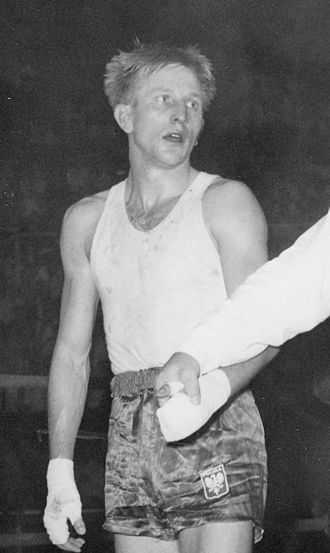 Jerzy Adamski - Jerzy Adamski at the 1960 Olympics