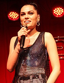 Jessie J at Nova's Red Room in Sydney Australia.