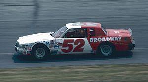 Jimmy Means - mid 1980s racecar